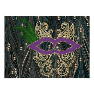 Mardi Gras - SRF Invitations