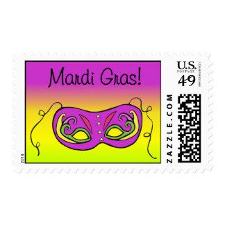Mardi Gras! Stamp