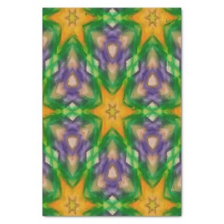 """Mardi Gras Stars #4950 tissue paper 10"""" X 15"""" Tissue Paper"""