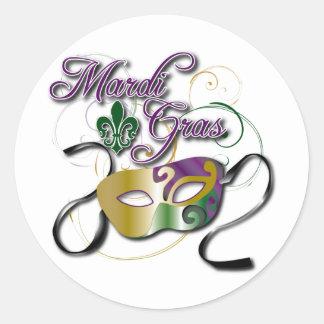 Mardi Gras Stickers