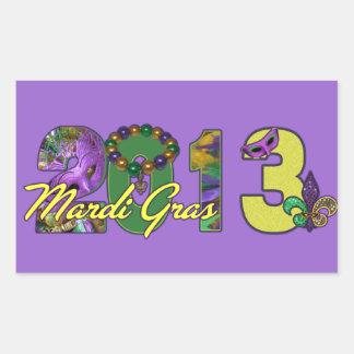 Mardi Gras Sticker Fleur De Lis New Orleans