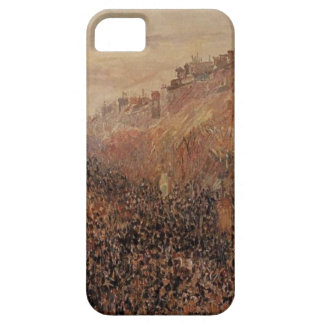 Mardi Gras, Sunset, Boulevard Montmartre by Camill iPhone SE/5/5s Case