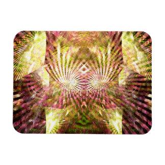 Mardi Gras Sunshine Rectangular Photo Magnet
