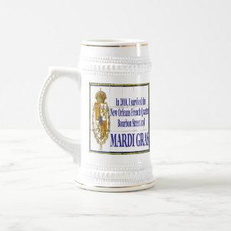MArdi Gras Survivor Tile Mural Coffee Mug