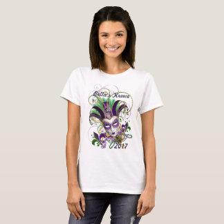 Mardi Gras Tee Shirt Design