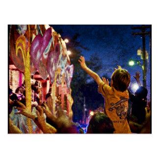 Mardi Gras Textures Post Cards