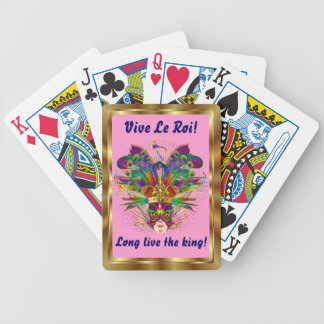 Mardi Gras The King View Notes Please Card Deck