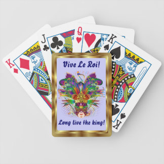 Mardi Gras The King View Notes Please Playing Cards