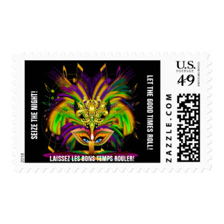 Mardi Gras The Queen Stamps