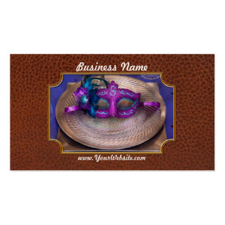 Mardi Gras Theme - Surprise guest Double-Sided Standard Business Cards (Pack Of 100)
