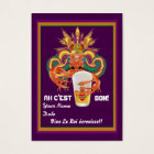 Mardi Gras Throw Crawfish View Notes Please Business Card
