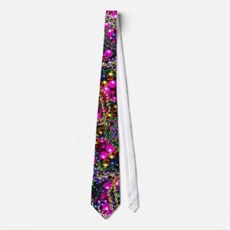 "Mardi Gras ""throws"" necktie"
