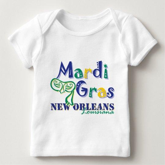 Mardi Gras Tri Mask Baby T-Shirt