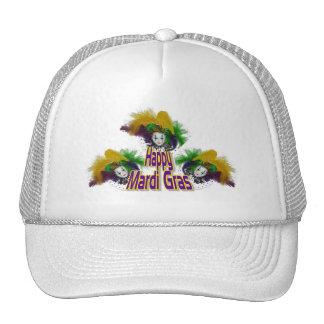 Mardi Gras Trio Trucker Hat