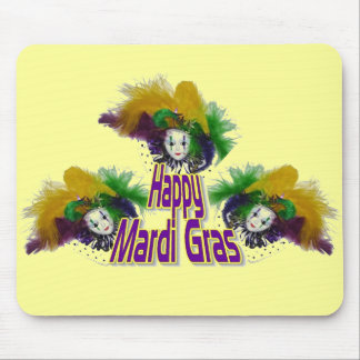 Mardi Gras Trio Mouse Mats