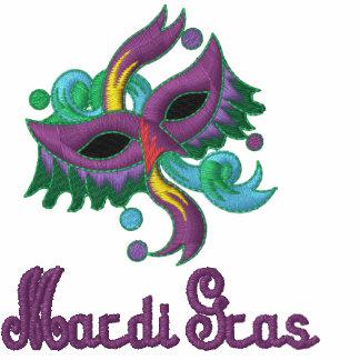 Mardi Gras Tshirt with Colorful Mask