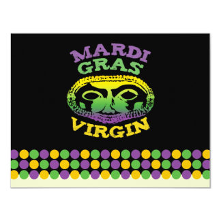 Mardi Gras Virgin Card