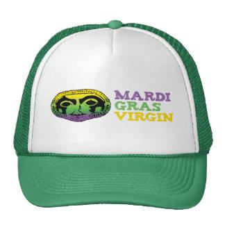 Mardi Gras Virgin Trucker Hat