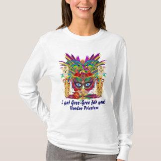 Mardi Gras Voodoo Priestess Women Light All Styles T-Shirt