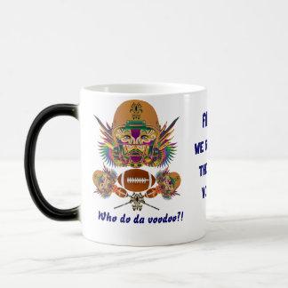 Mardi Gras Voodoo Quarterback Please view notes Magic Mug
