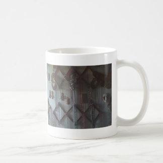 Mardi gras wall beads 5 coffee mug