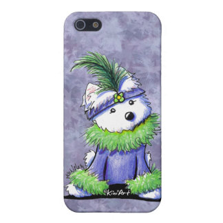 Mardi Gras Westie Cover For iPhone SE/5/5s