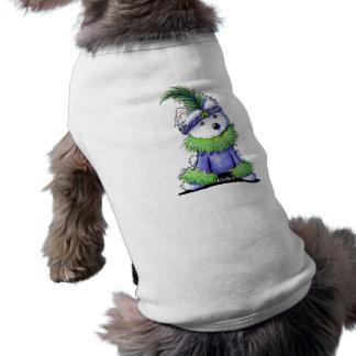 Mardi Gras Westie Shirt