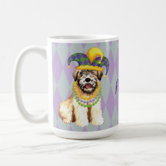 Mardi Gras Wheaten Coffee Mug