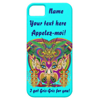 Mardi Gras Witch Doctor Important View Hints iPhone 5 Case