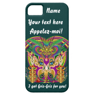 Mardi Gras Witch Doctor Important View Hints iPhone 5 Cover