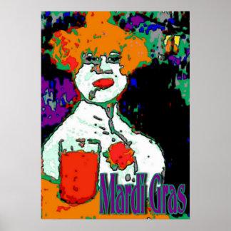 Mardi Gras Wo-Man Poster