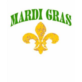 Mardi GrasFleur De Lis shirt