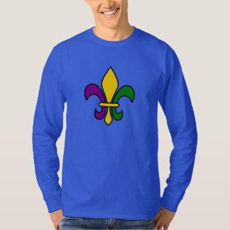 Mardi grass fleur-de-lys T-Shirt