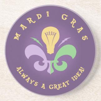 Mardi Great Idea Beverage Coasters