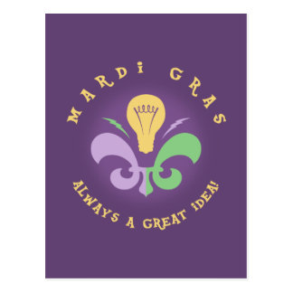 Mardi Great Idea Postcard