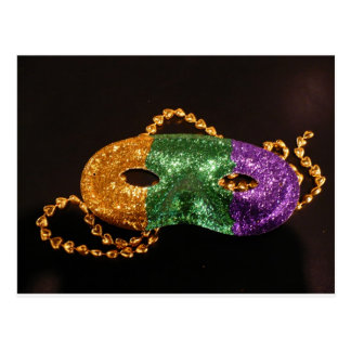 Mardi Party Post Card