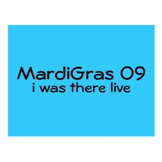 MardiGras 09 Postcard