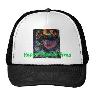 MardiGras harlequin baseball cap Trucker Hats