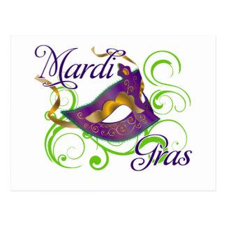 MardiGras Postcard