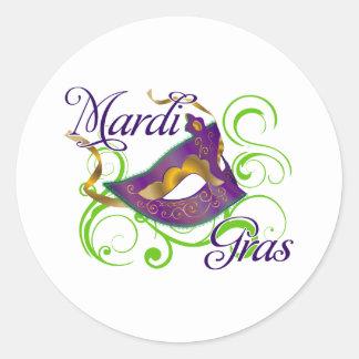 MardiGras Sticker
