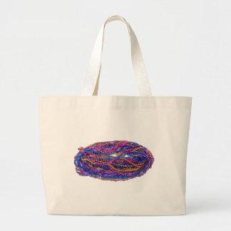 MardiGrasBeads022111 Jumbo Tote Bag