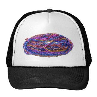 MardiGrasBeads022111 Trucker Hat