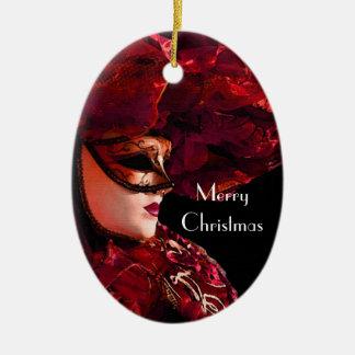 Mardis Gras Christmas Ornament