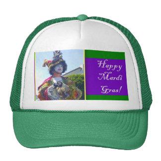Mardis Gras Clown Trucker Hat