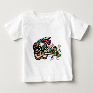 Mardis Gras Ukulele Baby T-Shirt