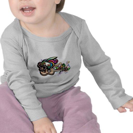 Mardis Gras Ukulele Shirt