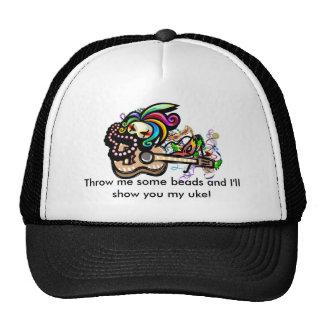 Mardis Gras Ukuleles Trucker Hat