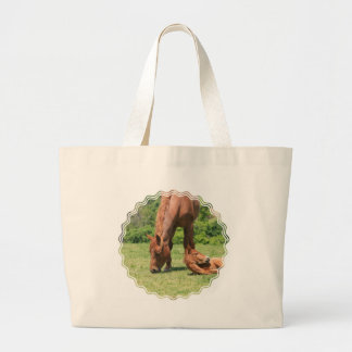 Mare and Colt Jumbo Tote Bag