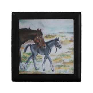 Mare and Filly Giftbox Jewelry Boxes