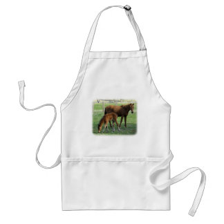 Mare and Foal 9P30D-175 Apron